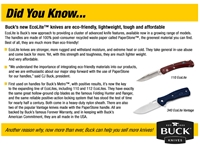 Buck Eco Lite Knives