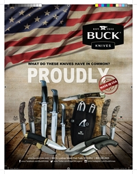 Buck Knives Field & Stream Ad