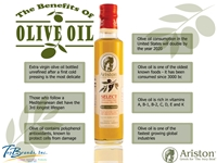 Ariston Olive Oil Facts
