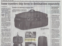 Delsey USA Today Article
