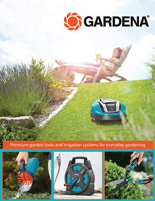 The Latest Lawn And Garden Products From Gardena