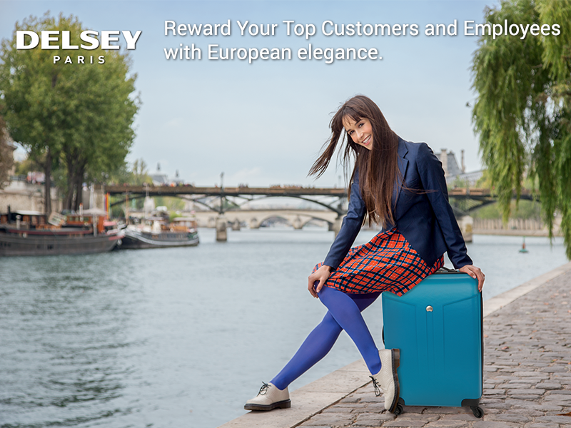 Reward and Motivate with Sophisticated and Stylish Luggage from Delsey