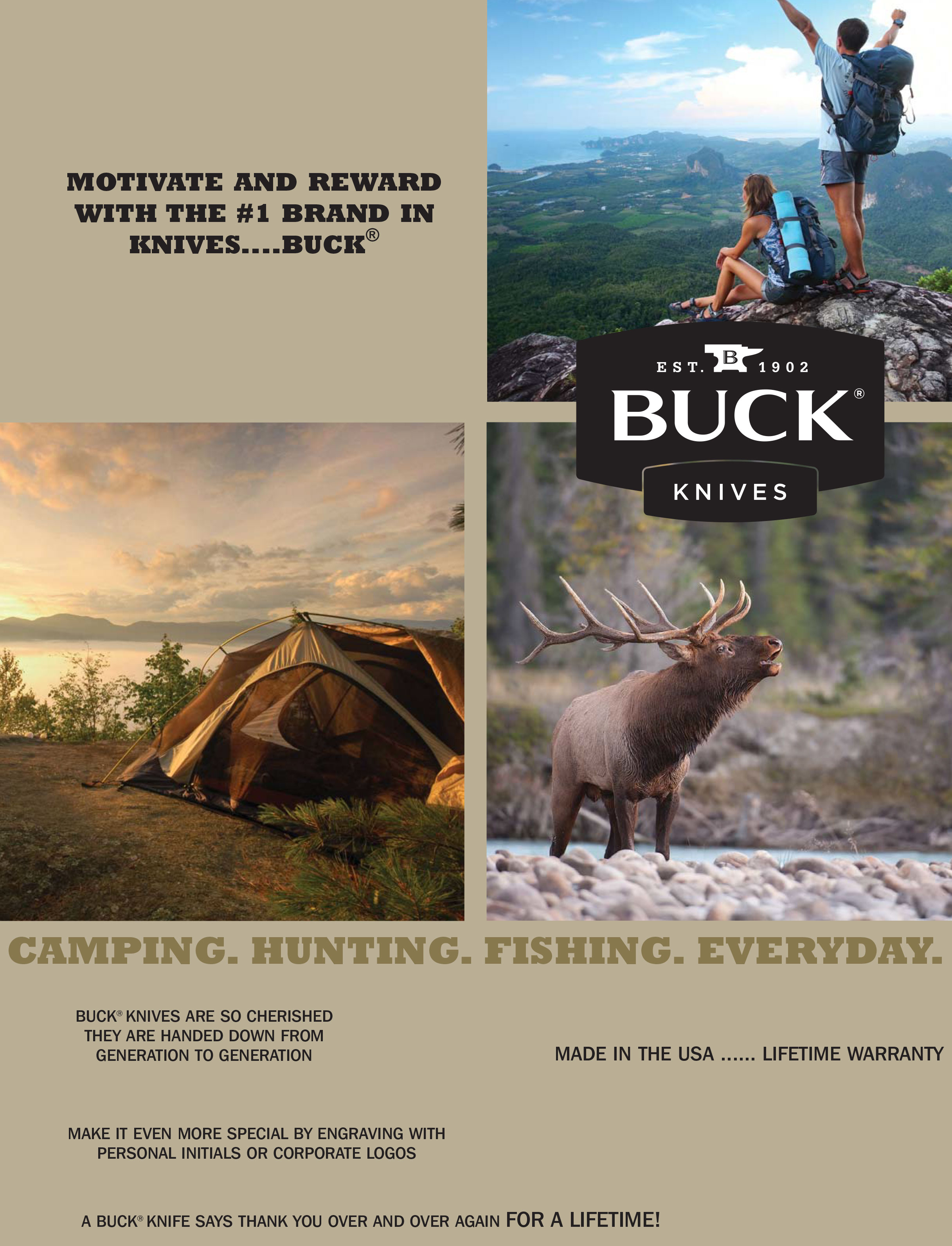 New Brochure From Buck® Knives