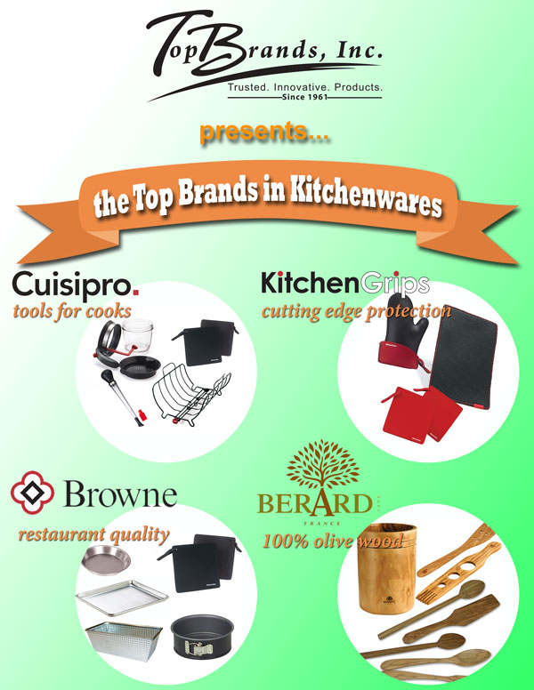 The Top Brands in Kitchenware