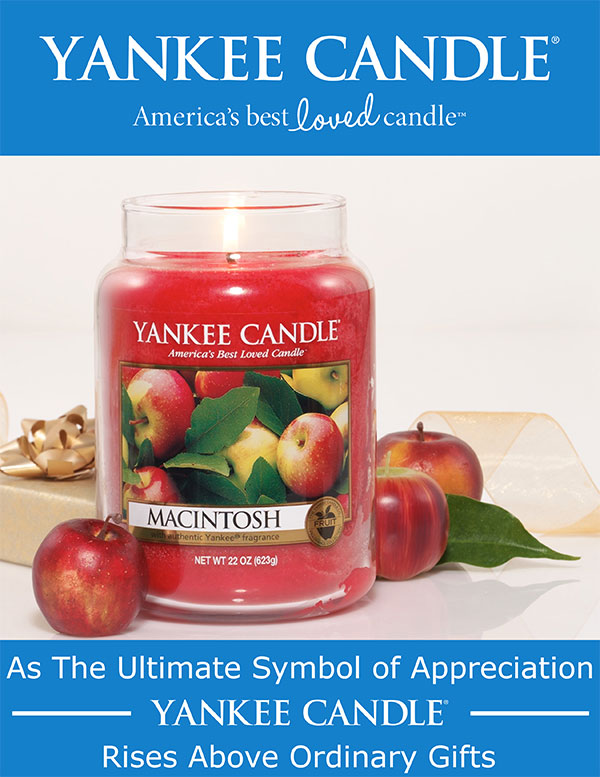 Yankee Candle joins the Top Brands family of products!