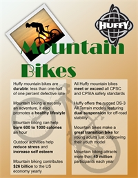 Huffy Mountain Bike Information