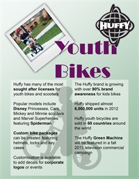Huffy Youth Bike Information