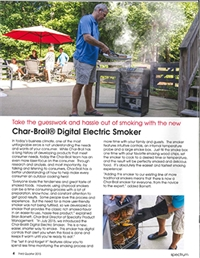 Char-Broil Digital Smoker Article
