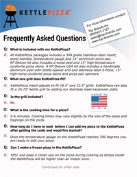 KettlePizza FAQ 1
