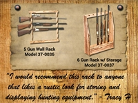 Rush Creek Gun Rack
